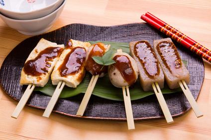 Flûtes croquantes au tofu