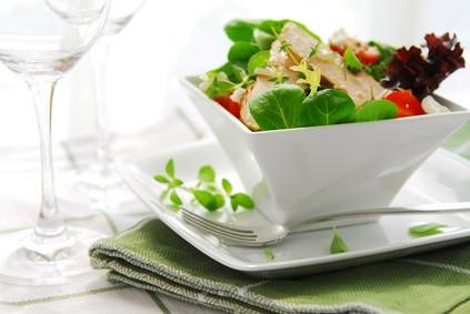 Salade de poulet Dukan