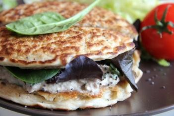 Sandwich Dukan thon et épices