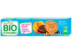 Biscuits à l'orange, sésame et chocolat noir