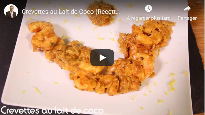 Crevettes au Lait de Coco (Recettes Dukan)
