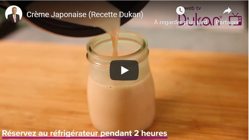 Crème Japonaise (Recette Dukan)