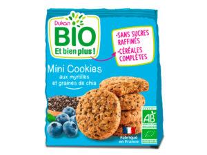 Mini cookies aux myrtilles et graines de chia