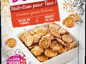 Crackers façon bretzels