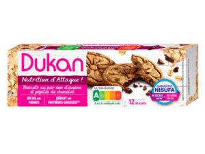 Biscuits au pur son d'avoine aux pépites de chocolat 95g