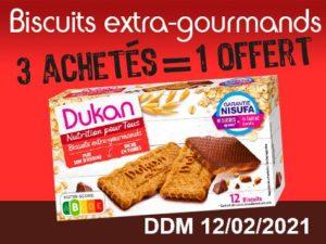 3 achetès Biscuits extra-gourmand = 1 offert