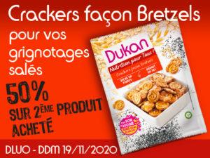 -50% Crackers façon bretzels