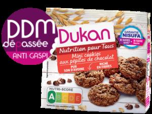 Anti Gaspillage – Mini cookies aux pépites de chocolat
