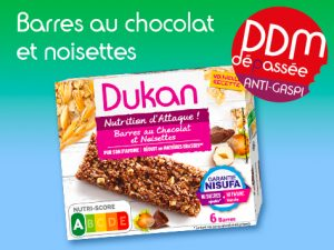 Anti-Gaspillage Barres au chocolat et noisettes