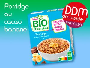 Anti Gaspiallge – Porridge au cacao et banane