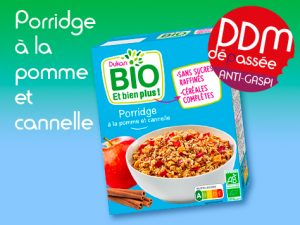 Anti Gaspilagge – Porridge à la pomme et cannelle