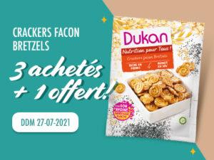 Lot de 4 Crackers façon bretzels DDM 27-07-2021