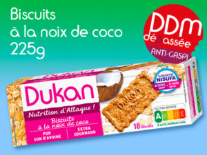 Anti Gaspilagge – Biscuits à la noix de coco 225g DDM 11-09-2021