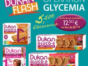 Lot de Dukan Gluco D + Cacao en poudre (opération glycemia)