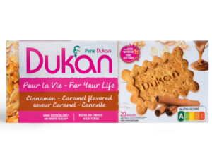Biscuits saveur caramel cannelle 140g (nutrition attaque)