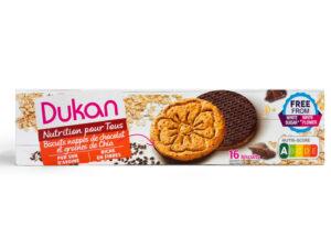 Biscuits nappés de chocolat et graines de Chia Nouvelle Recette