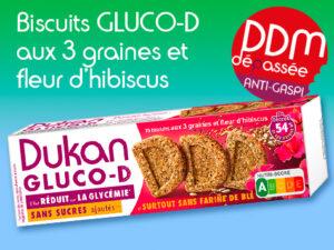 Anti Gaspilagge – Biscuits D aux 3 graines fleur d'hibiscus DDM 08-06-2021