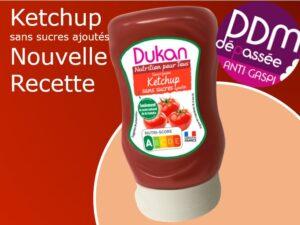ANTI GASPILAGGE Ketchup sans sucres ajoutés nouvelle recette DDM 04-07-2021