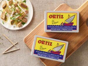 Conservas Ortiz Œufs de merlu (poissons) à l'huile d'olive 110g