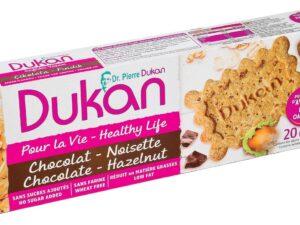 Biscuits saveur chocolat éclats de noisettes 140g (nutrition attaque)