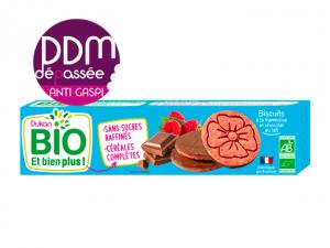 ANTI-GASPI biscuits tendre à la framboise et chocolat au lait DDM 02-10-2021