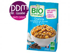 ANTI-GASPI granola aux pépites de chocolat et noix de coco DDM 10-10-2021