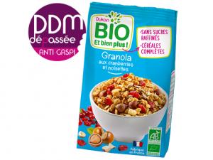 Anti-Gaspi Granola aux cranberries et noisettes DDM 10-10-2021